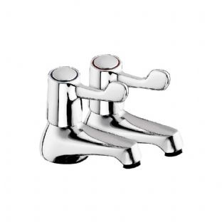 Arley Custom Lever CL31 Basin Taps Chrome Plated - Pair (798CL31)